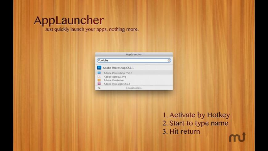 AppLauncher for Mac - review, screenshots