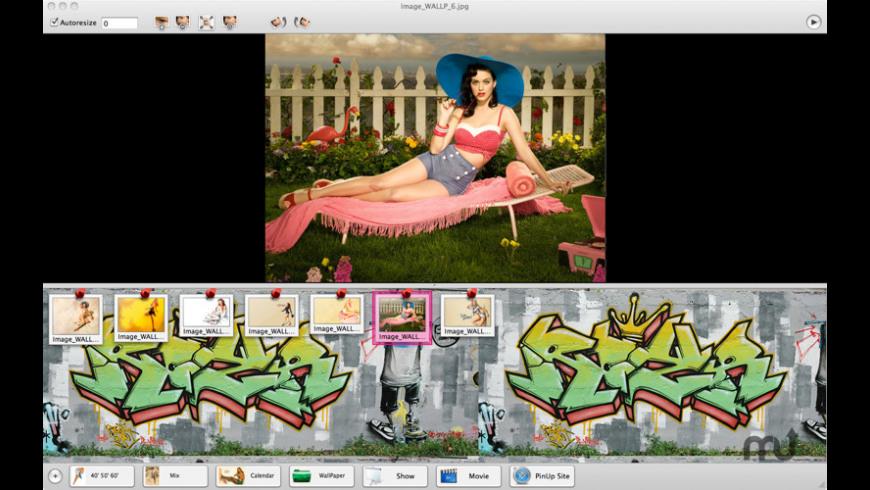PinUpGirls for Mac - review, screenshots