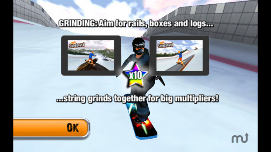 Crazy Snowboard for Mac - review, screenshots