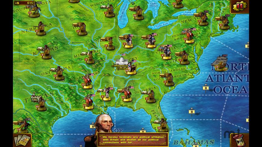 Musket & Artillery: American Revolutionary War for Mac - review, screenshots