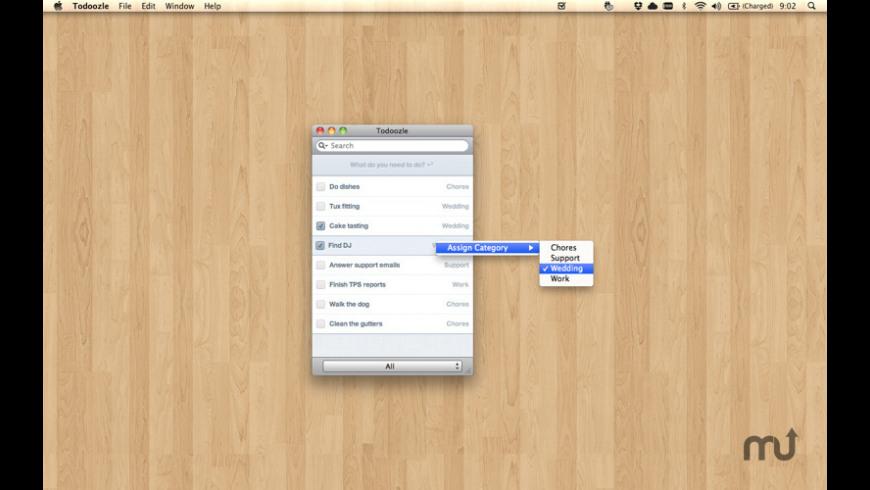 Todoozle for Mac - review, screenshots