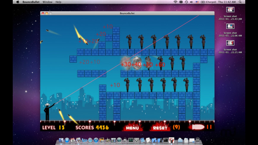 Bounce Bullet for Mac - review, screenshots