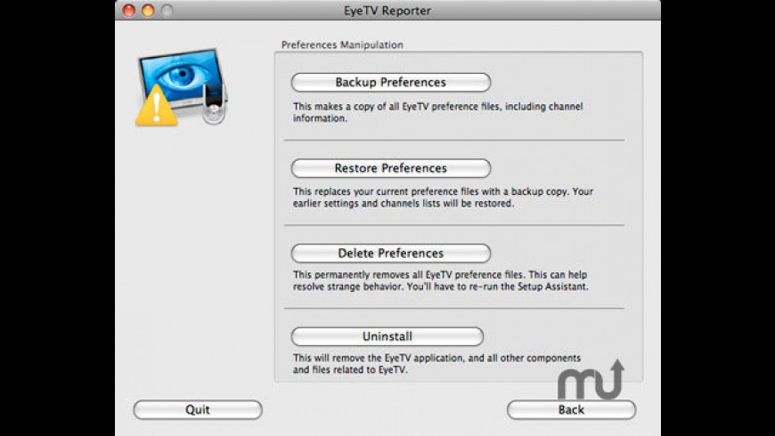 EyeTV Reporter 1 8 7 Free Download for Mac | MacUpdate
