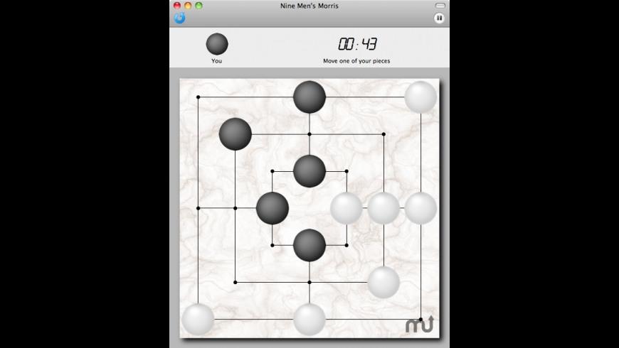 Nine Men's Morris for Mac - review, screenshots
