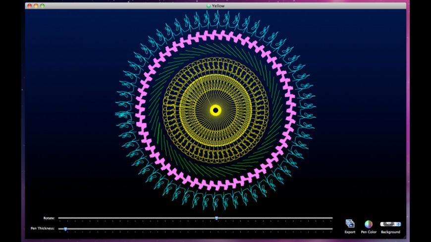 SpiralArt for Mac - review, screenshots