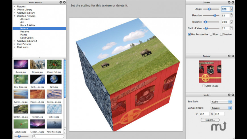 Box Model 3D for Mac - review, screenshots