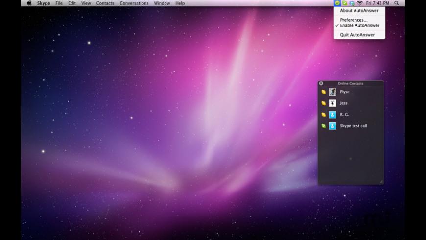 AutoAnswer for Mac - review, screenshots