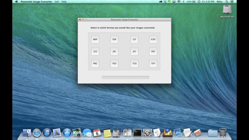 Pneumatic Image Converter for Mac - review, screenshots