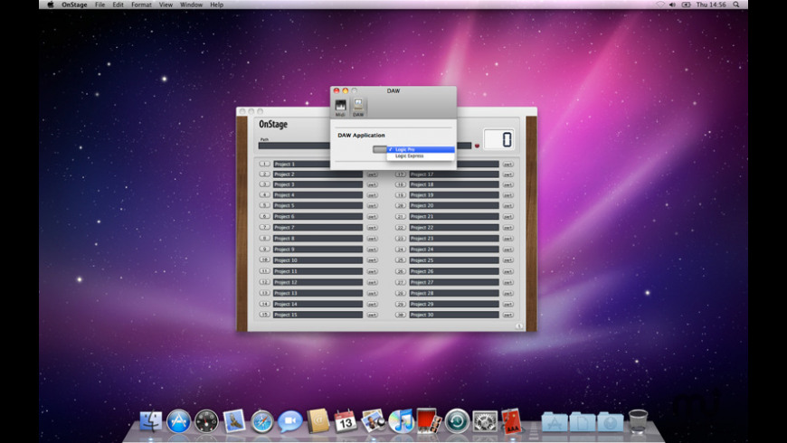 OnStage for Mac - review, screenshots