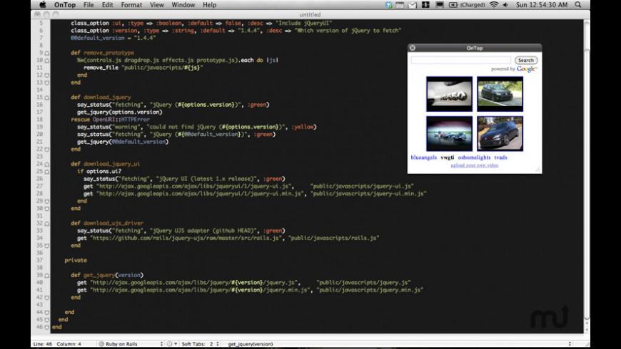 OnTop for Mac - review, screenshots