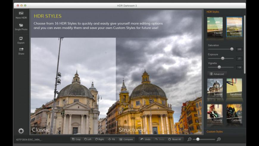 HDR Darkroom 3 for Mac - review, screenshots