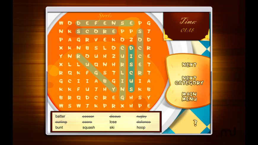 Ultimate Word Search for Mac - review, screenshots