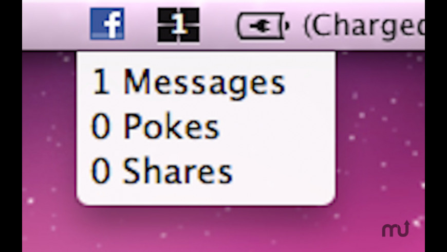 Facebook Notifier for Mac - review, screenshots