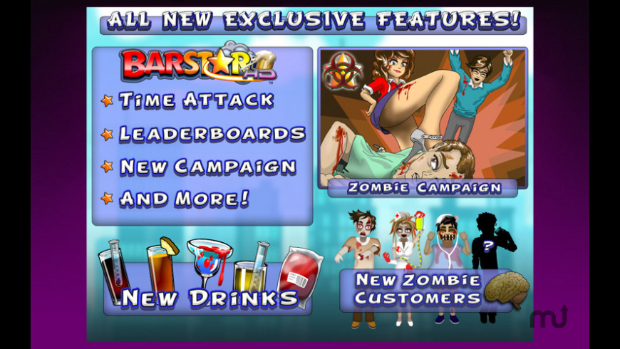 Bar Star HD for Mac - review, screenshots