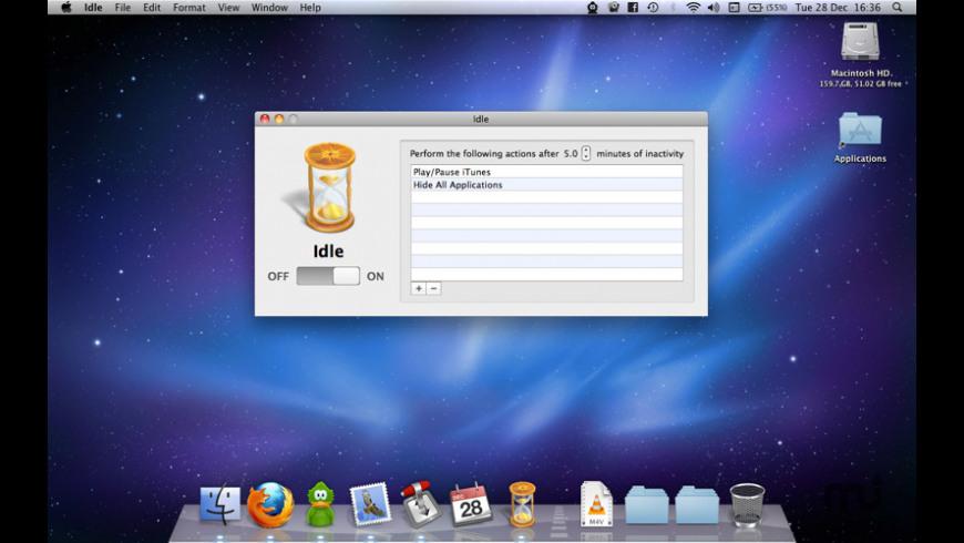 Idle for Mac - review, screenshots