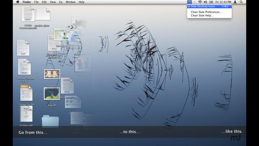 Clean Slate for Mac - review, screenshots