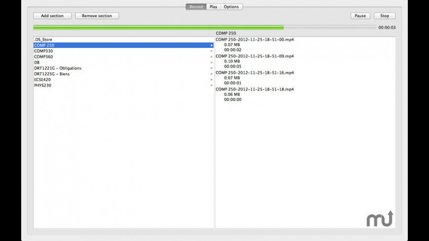 Lecture Recorder for Mac - review, screenshots