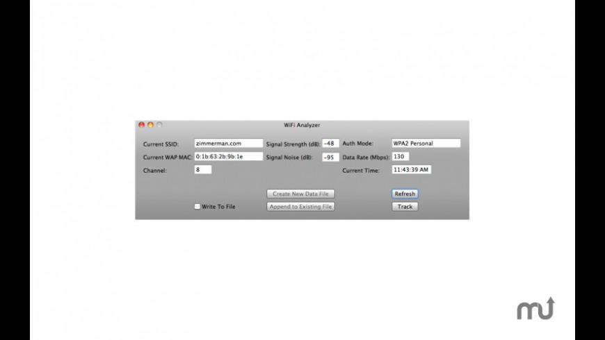 WiFi Analyzer 1 0 2 Free Download for Mac | MacUpdate