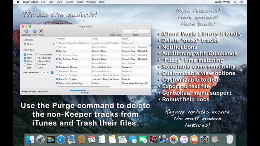 Dupin Lite for Mac - review, screenshots