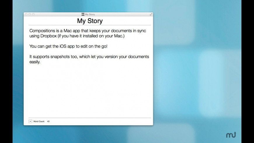 Compositions for Mac - review, screenshots