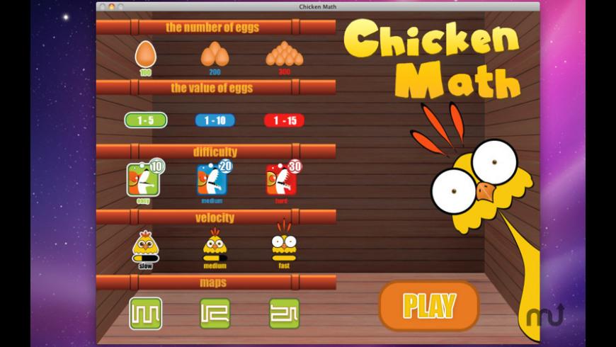 Chicken Math for Mac - review, screenshots