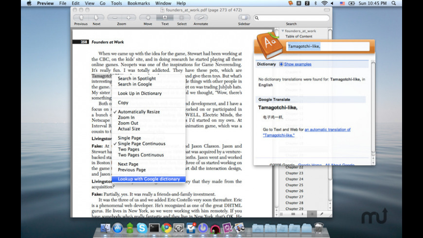 GDict for Mac - review, screenshots
