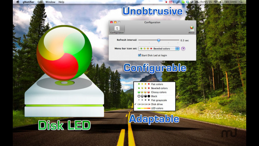 Disk LED for Mac - review, screenshots