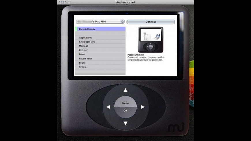 ParentsRemote for Mac - review, screenshots