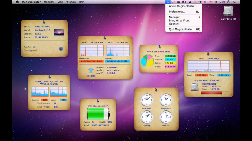 MagicanPaster for Mac - review, screenshots