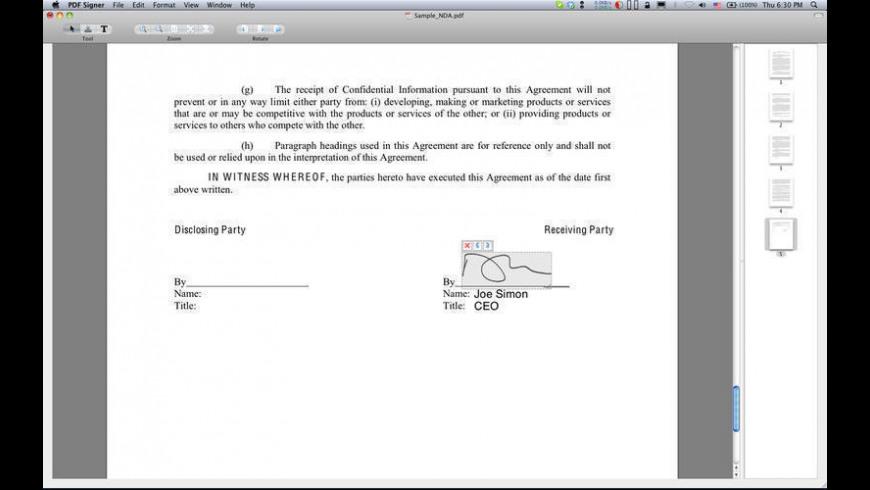 PDF Signer 1 9 1 Free Download for Mac | MacUpdate