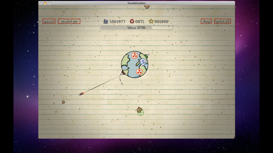 DoodleGeddon for Mac - review, screenshots