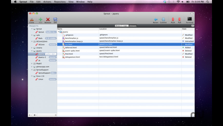 Sprout for Mac - review, screenshots