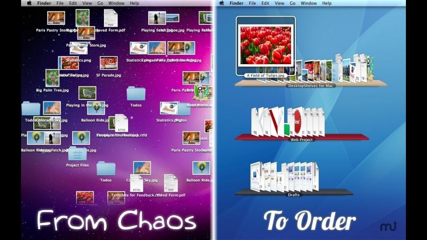 DesktopShelves for Mac - review, screenshots