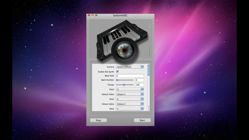 Eye Synth OSC for Mac - review, screenshots