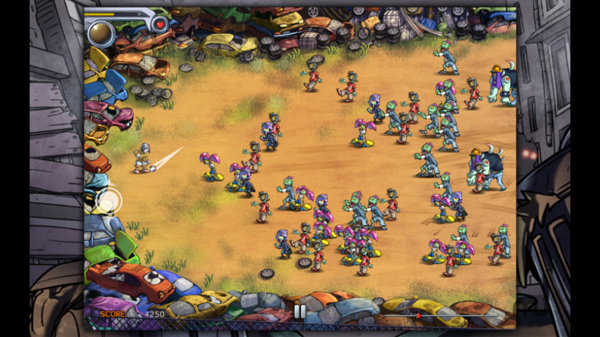 Pro Zombie Soccer AE for Mac - review, screenshots