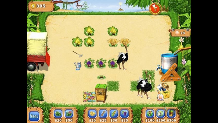 Tropical Farm for Mac - review, screenshots