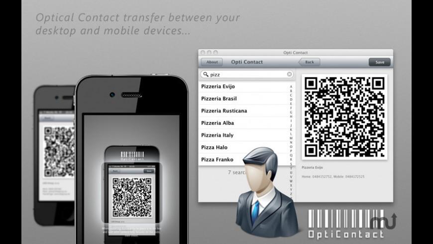 Opti Contact for Mac - review, screenshots