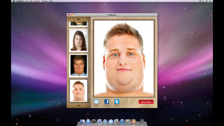 FatBooth for Mac - review, screenshots