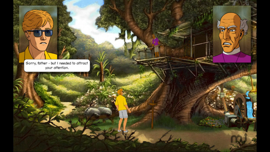 Broken Sword - The Smoking Mirror: Remastered for Mac - review, screenshots