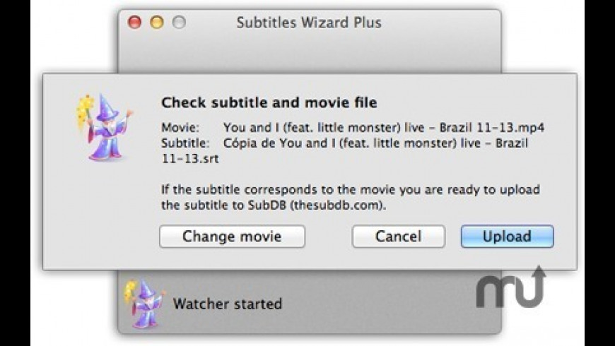 Subtitles Wizard for Mac - review, screenshots