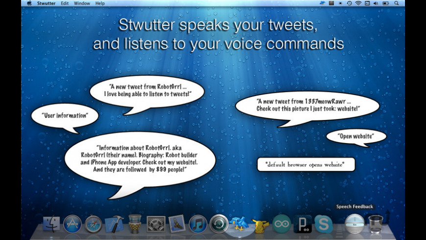 Stwutter for Mac - review, screenshots