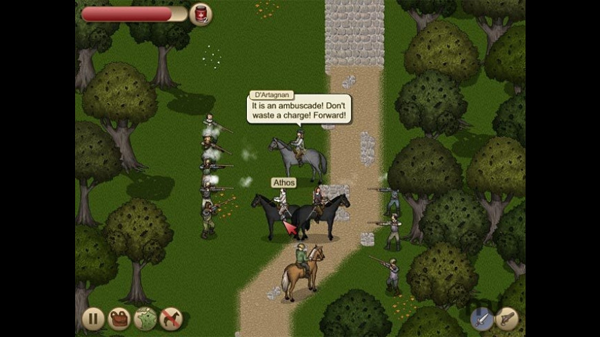 Three Musketeers - Queen Anne's Diamonds for Mac - review, screenshots