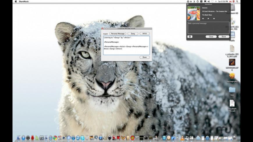 ShareMusic for Mac - review, screenshots