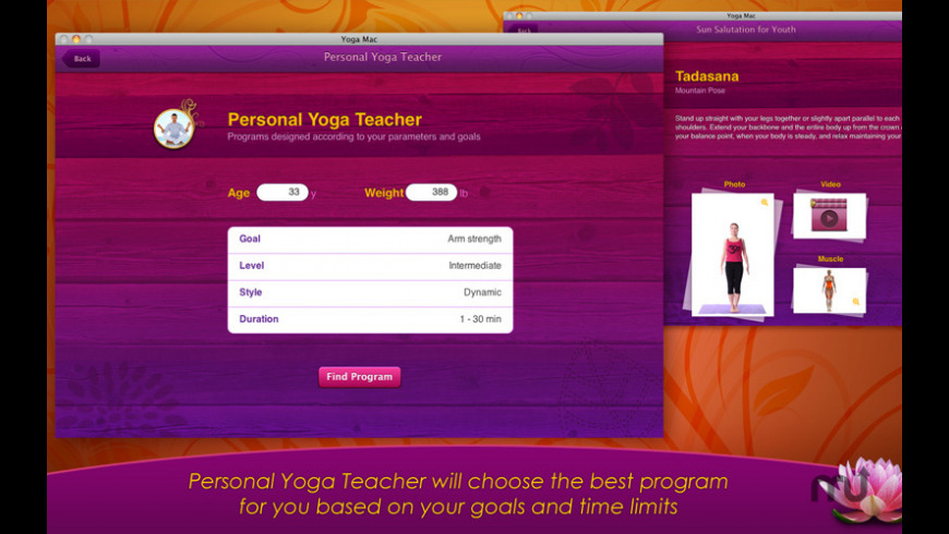 All-in Yoga for Mac - review, screenshots