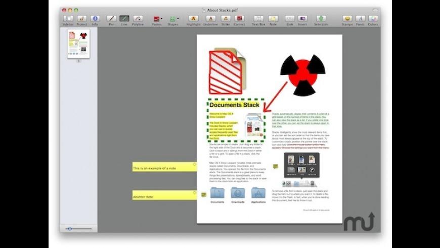 SamucoPDF for Mac - review, screenshots