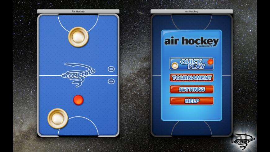 Air Hockey for Mac - review, screenshots