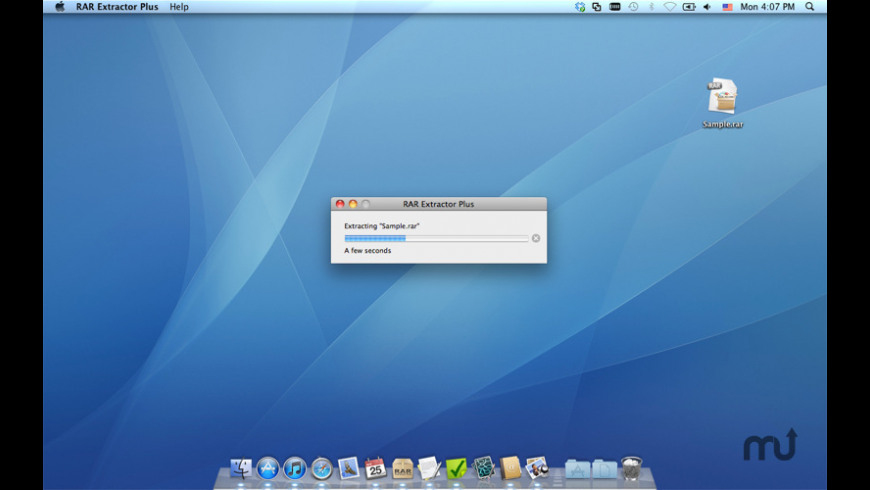 RAR Extractor Plus for Mac - review, screenshots