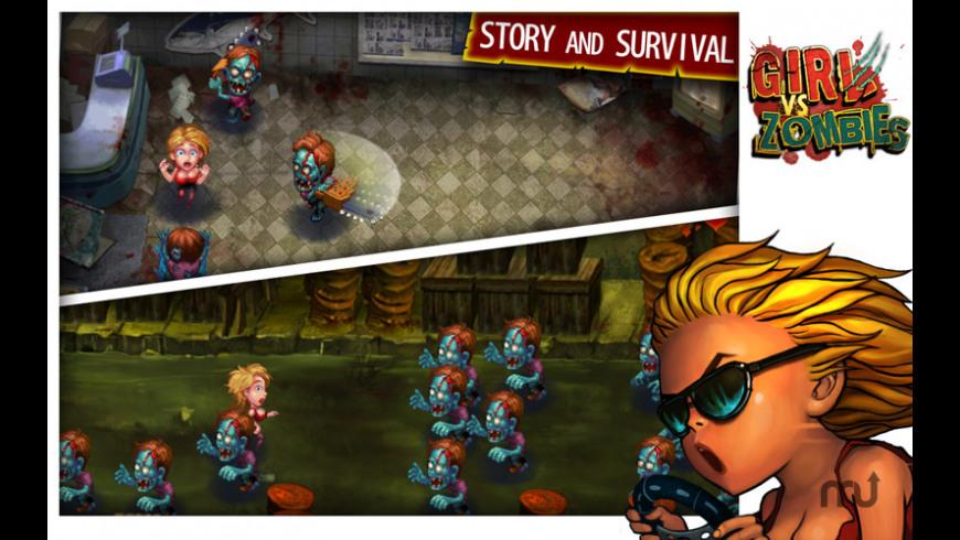 Girl vs Zombies for Mac - review, screenshots