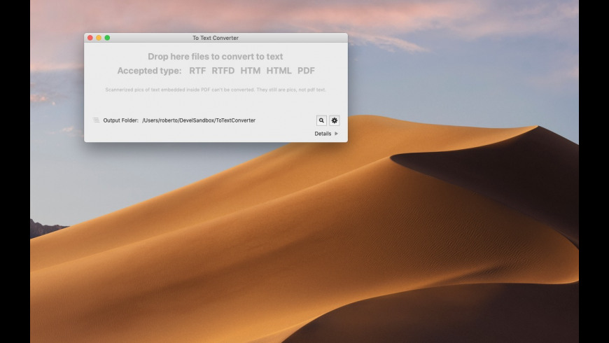 To Text Converter for Mac - review, screenshots