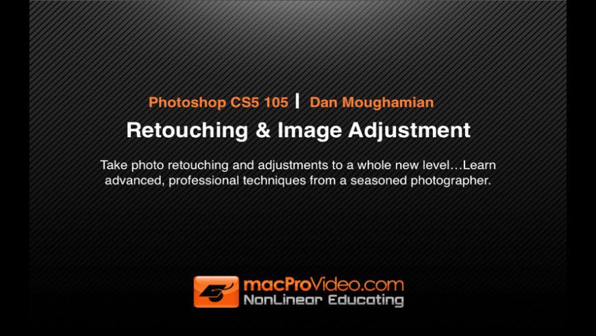 Photoshop CS5 Retouching & Image Adjustment for Mac - review, screenshots